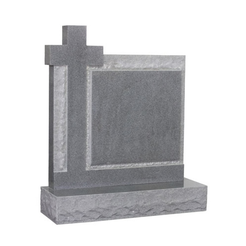 Cross & Panel Headstone