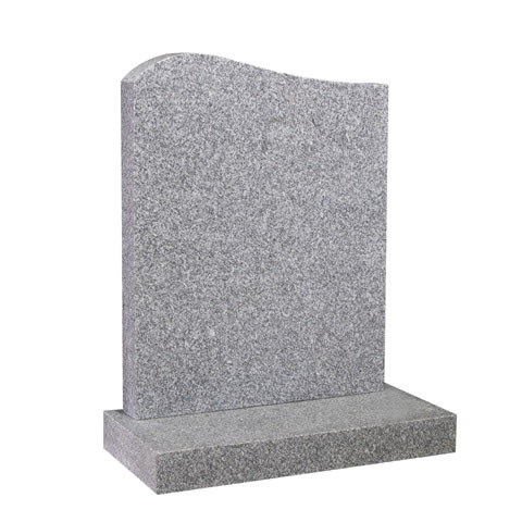 Half Ogee Top headstone