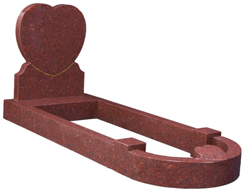 Heart Shape with Curved Kerbs