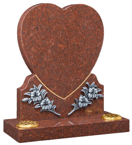 Heart with Resin Ornamentation