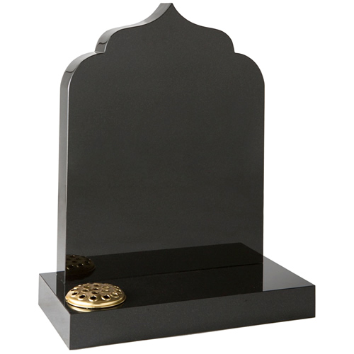 Temple Top Headstone