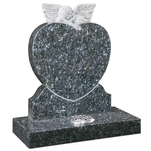 Carved Angel Heart