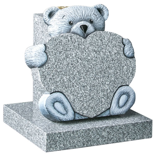 Teddy Heart Tablet with Vase Rest