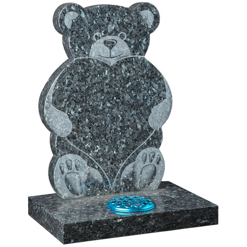 Teddy Shaped headstone